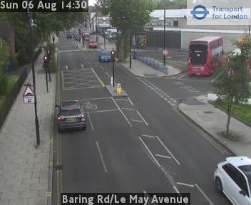Baring Road / Le May Avenue traffic camera.