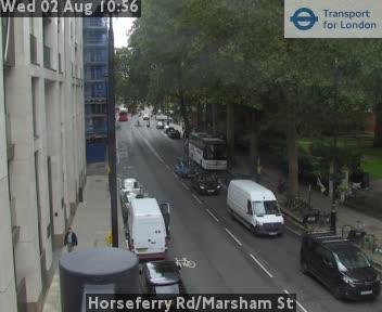 Horseferry Road / Marsham Street traffic camera.