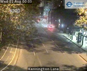 Kennington Lane traffic camera.