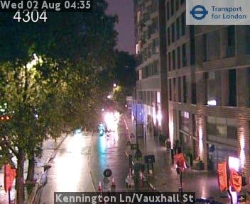 Kennington Lane / Vauxhall Street traffic camera.