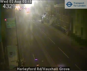 Harleyford Road / Vauxhall Grove traffic camera.