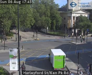 Harleyford Street / Ken Park Road traffic camera.