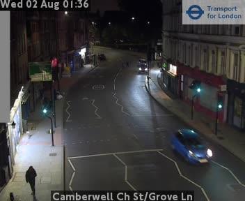 Camberwell Church Street / Grove Lane traffic camera.