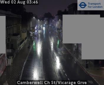 Camberwell Church Street / Vicarage Grve traffic camera.