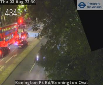 Kenington Park Road / Kennington Oval traffic camera.