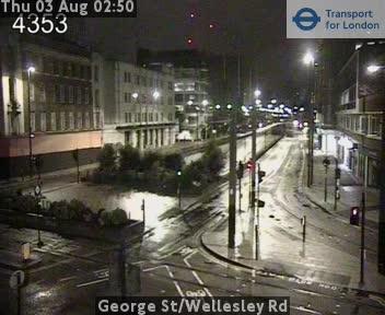 George Street / Wellesley Road traffic camera.