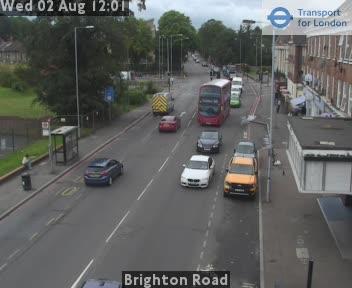 Brighton Road traffic camera.