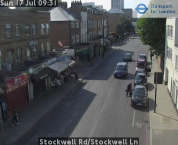 Stockwell Road / Stockwell Lane traffic camera.
