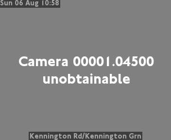 Kennington Road / Kennington Green traffic camera.