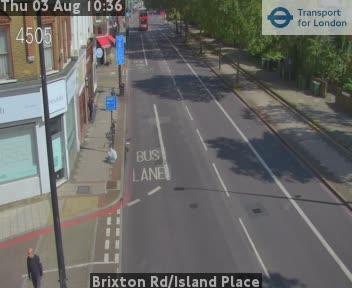 Brixton Road / Island Place traffic camera.