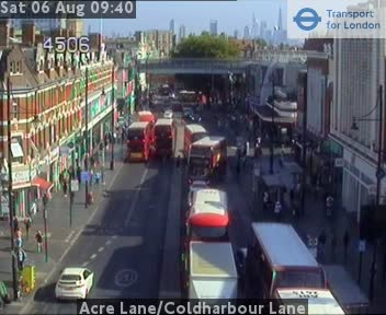 Acre Lane / Coldharbour Lane traffic camera.