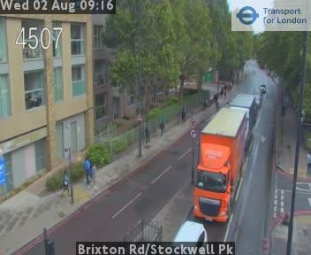 Brixton Road / Stockwell Park traffic camera.