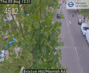 Brixton Hill / Morrish Road traffic camera.