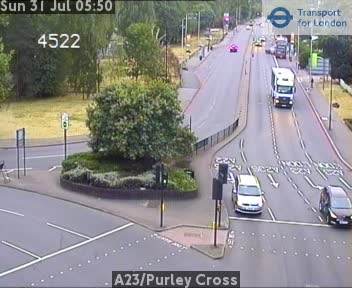 A23 / Purley Cross traffic camera.