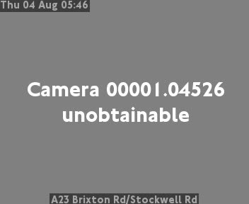 A23 Brixton Road / Stockwell Road traffic camera.