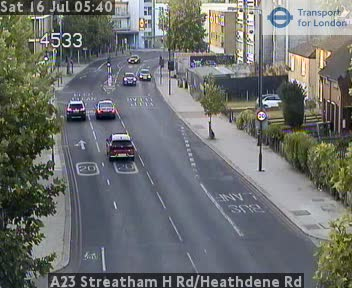 A23 Streatham High Road / Heathdene Road CCTV | London Traffic Cameras
