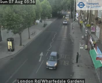 London Road / Wharfedale Gardens traffic camera.