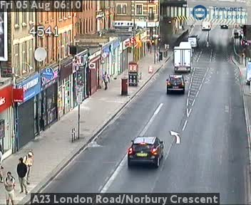 A23 London Road / Norbury Crescent traffic camera.