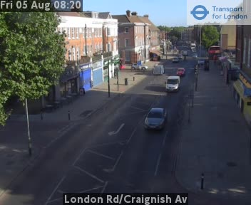 London Road / Craignish Avenue traffic camera.