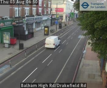 Balham High Road / Drakefield Road traffic camera.