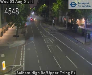 Balham High Road / Upper Tting Park traffic camera.