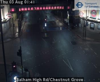 Balham High Road / Chestnut Grove traffic camera.