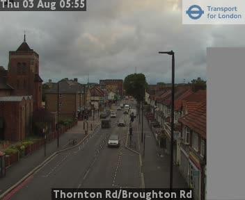 Thornton Road / Broughton Road traffic camera.