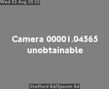 Stafford Road / Epsom Road traffic camera.