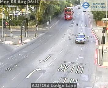 A23 / Old Lodge Lane traffic camera.