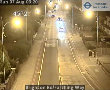 Brighton Road | Farthing Way traffic camera.