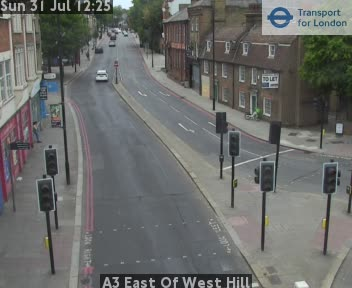 A3 East Of West Hill traffic camera.