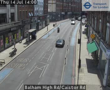 Balham High Road / Caistor Road traffic camera.