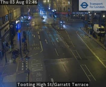 Tooting High Street / Garratt Terrace traffic camera.