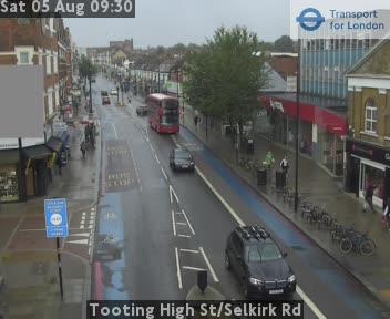 Tooting High Street / Selkirk Road traffic camera.