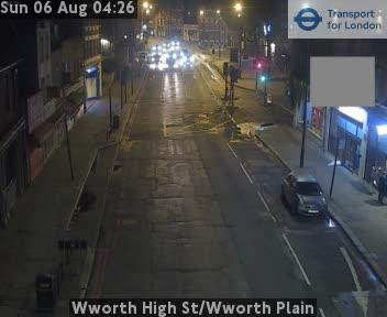 Wworth High Street / Wworth Plain traffic camera.