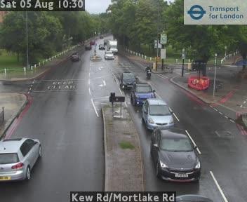 Kew Road / Mortlake Road traffic camera.