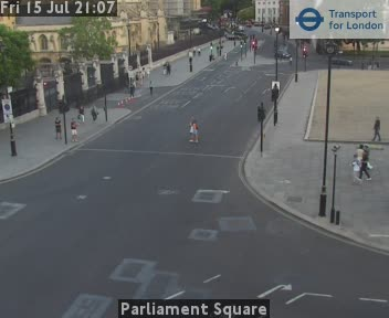 London Parliament Square Live Traffic Weather Jam Web Cam Palace of Westminster London