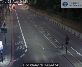Grosvenor / Chapel Street traffic camera.