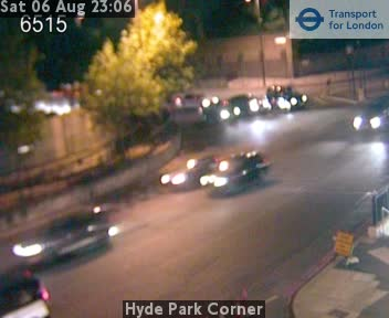 Hyde Park Corner Grosvenor Place London Traffic Weather Cam London