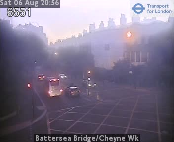 Battersea Bridge Cheyne Walk London Traffic Weather Cam London