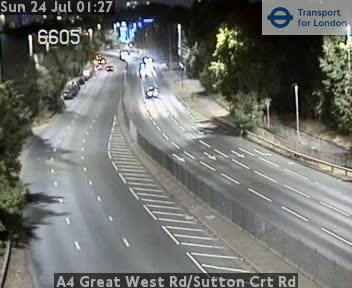 A4 Great West Rd/Sutton Court Road