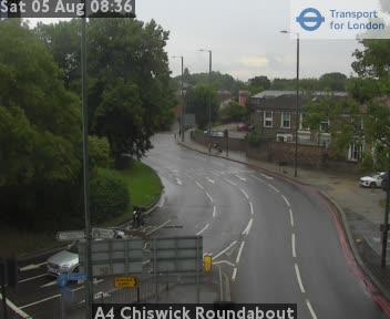A4 Chiswick Roundabout