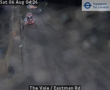 The Vale  /  Eastman Road traffic camera.