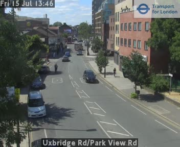 Uxbridge Road / Park View Road CCTV | London Traffic Cameras