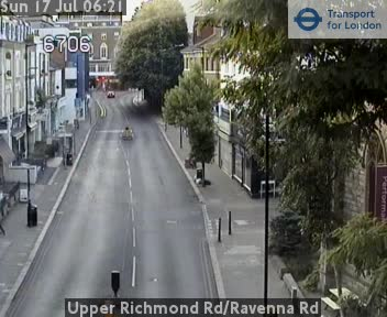 Richmond Traffic Map.Upper Richmond Road Ravenna Road Cctv London Traffic Cameras