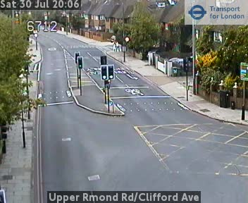 Richmond Traffic Map.Upper Richmond Road Clifford Avenue Cctv London Traffic Cameras