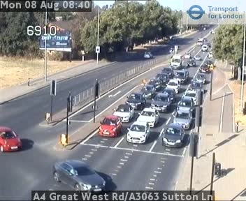 A4 Great West Road/A3063 Sutton Lane