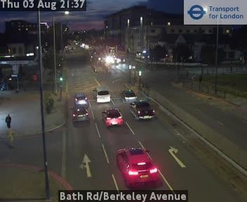 Bath Road / Berkeley Avenue traffic camera.