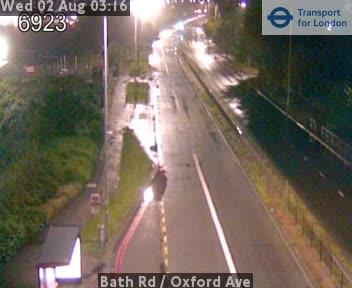 Bath Road  /  Oxford Avenue traffic camera.