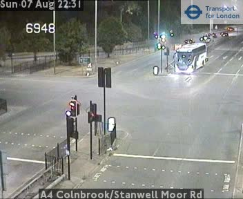 A4 Colnbrook / Stanwell Moor Road traffic camera.